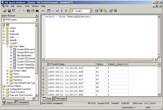 Microsoft Sql Query Analyzer