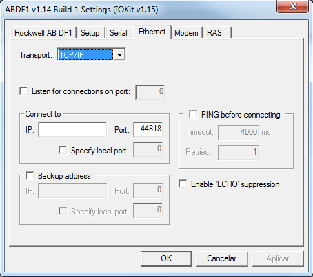 Elipse Knowledgebase :: Communicating with Rockwell's Micrologix