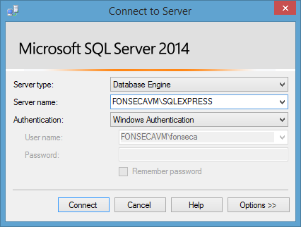 Elipse E3 won't connect to SQL Server database with Windows