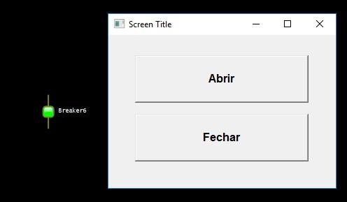 opção 1-Modal Screen